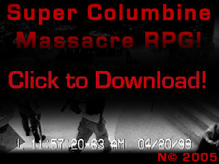 what is super columbine massacre rpg scmrpg essay The game is crude, but during the early sections at least, it did manage a few rather chilling moments with its mix of snes-era blocky rpg-em-up and real-life tragedy.